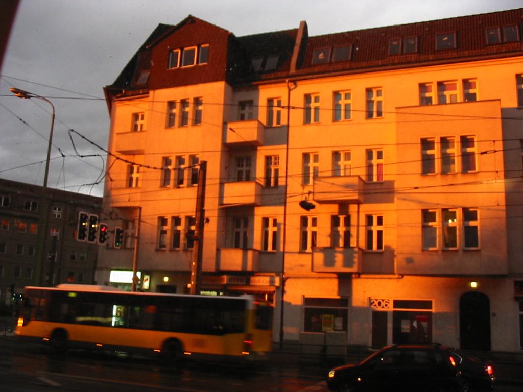 Berliner Allee am 4.Juni gegen 17.30 Uhr