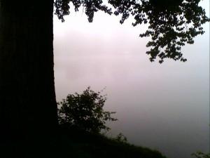 am Weißensee - Nebel
