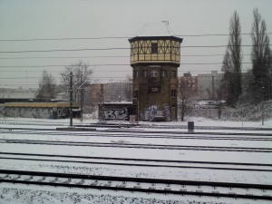 Schnee am 19.März