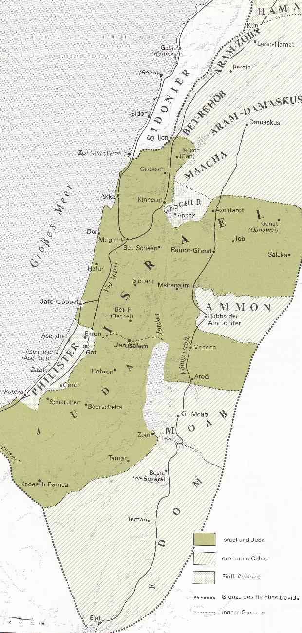 das Königreich Davids