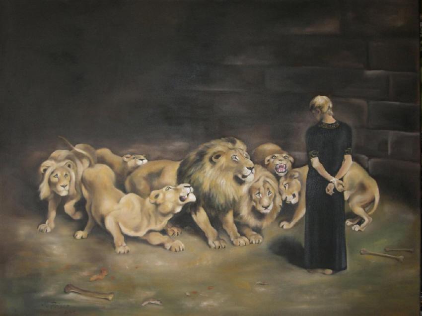 In der Löwengrube
