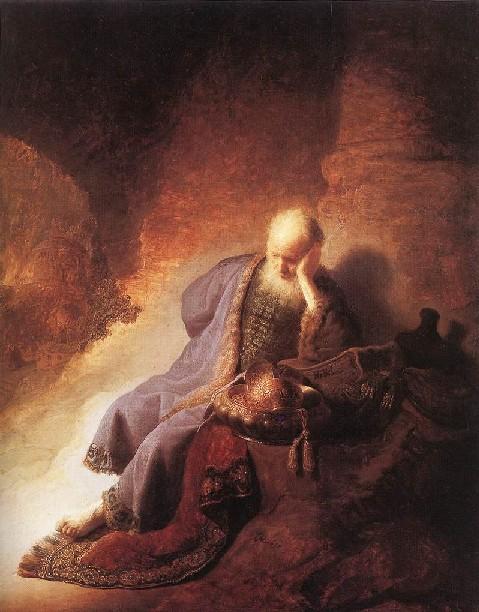 Traurigkeit über Jerusalem