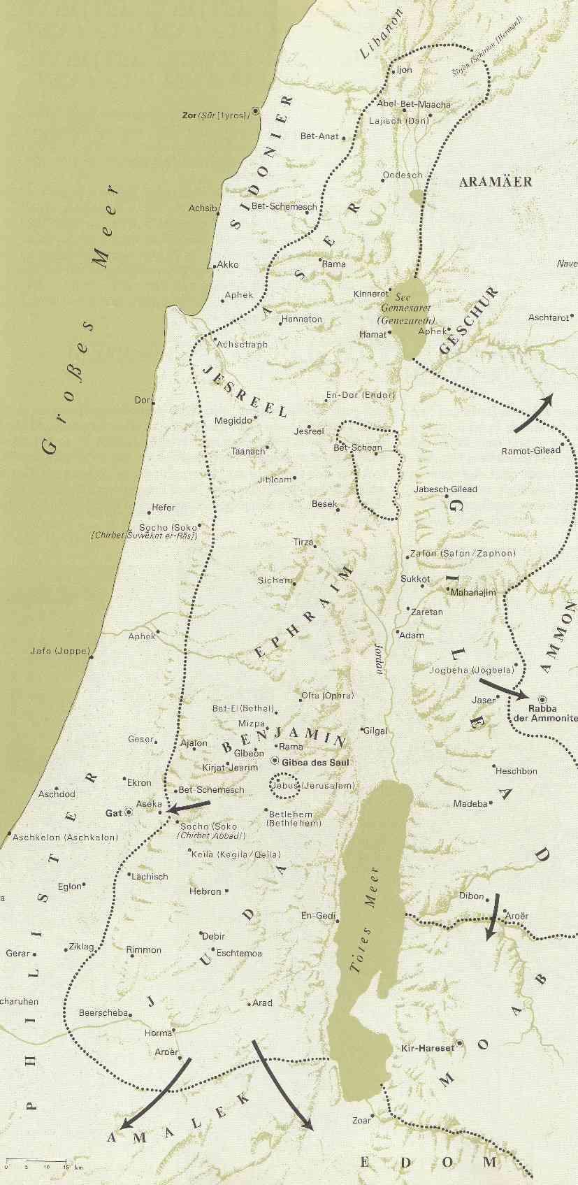 königreich unter Saul