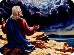 Sachaja erhält eine Vision
